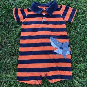 Carter's Baby Boy Shark Romper
